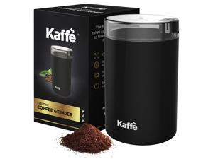 KF2010 Electric Coffee Grinder by Kaffe - Stainless Steel 2.5oz Capacity with Easy On/Off Button