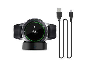 Updated Charger Compatible with New Samsung Galaxy Smart Watch 2018 42mm 46mm Replacement Charging Dock Cradle for Samsung Galaxy Smart Watch SM-R800 SM-R810 SM-R815 with a Charging Cable
