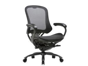 CLATINA LYL Series Ergonomic High Mesh Swivel Executive Chair with Adjustable Height Arm Rest and Lumbar Support Back for Home Office