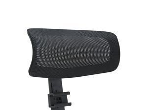 CLATINA XDD3 Series Adjustable Height Mesh Headrest, Black