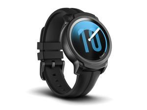 TicWatch E2 Shadow Black Smart Watch Wear OS by Google Bluetooth Smartwatch with GPS Android & iOS compatible 5 ATM Waterproof 2-day Batterylife