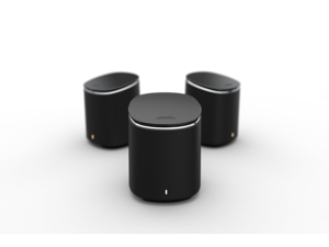M2 Swarm - Mesh Wi-Fi System, includes 3* Wireless Mercku Hive WiFi Routers (3 M2 Standalones) Whole Home Coverage 6000 sq. ft Wi-Fi Extenders Automatic Mesh Wi-Fi Connection ac1200