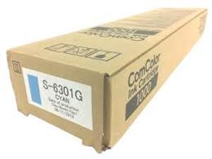 CYAN INK CARTRIDGE COMCOLOR 1000