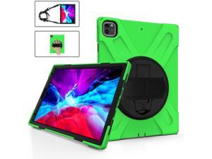 iPad Pro 12.9 Case 2021 2020 2018 Heavy Duty Shockproof 360 Degree Rotatable Kickstand Protective Cover Case for iPad Pro 12.9 inch 5th Gen 2021 / 4th Gen 2020 / 3rd Gen 2018