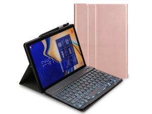 "Keyboard Case for Lenovo Tab M10 HD (2nd Gen) 10.1 inch 2020 TB-X306F / TB-X306X Detachable Wireless 7 Colors Backlit Keyboard Stand Cover for Lenovo Tab M10 HD 2nd Generation 10.1"" 2020"
