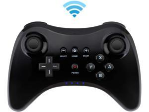 Controller for Wii U Wireless Pro Controller Bluetooth Gamepad Connected to Wii U Console Dual Analog Joystick