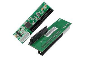 2.5 inch SATA to 3.5 inch IDE Adapter, 2.5 or 3.5 Inch HDD or SSD SATA Hard Drive to 40 Pin 3.5 Inch PATA Desktop Converter Card