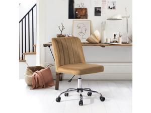 FurnitureR Task Chair Stylish Height Adjustable Swivel Office Chair, Multiple Colors