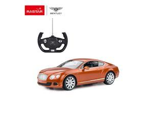 Bentley Continental GT speed. 1:14 scale. Radio controlled car for children age from 7 years old. Rastar Brand.