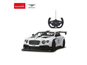 Bentley Continental GT3. Radio controlled car for children age from 7 years old. Rastar Brand.