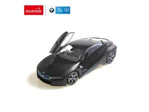 BMW I8 (Open door by controller).  Radio controlled car for children age from 7 years old. Rastar Brand.