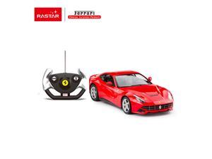 Ferrari F12. Radio controlled car for children age from 7 years old. Made by Rastar, Official licensed car. Scale 1:14.