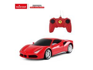 Ferrari 488 GTB. Radio controlled car for children age from 7 years old. Made by Rastar, Official licensed car. Scale 1:14.
