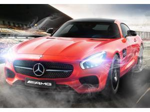 Mercedes-Benz AMG GT. Scale 1:14. Radio controlled car for children age from 7 years old. Made by Rastar, Official licensed car.