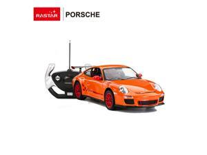 Porsche 911 GR3 RS. Scale 1:14. Radio controlled car for children age from 7 years old. Made by Rastar, Official licensed car.