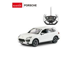 Porsche Cayenne Turbo. Scale 1:14. Radio controlled car for children age from 7 years old. Made by Rastar, Official licensed car.