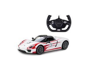 Porsche 918 Spyder Performance. Scale 1:14. Radio controlled car for children age from 7 years old. Made by Rastar, Official licensed car.