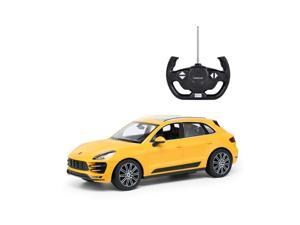 Porsche Macan. Scale 1:14. Radio controlled car for children age from 7 years old. Made by Rastar. Official licensed car.