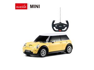 Mini Cooper. Scale 1:14. Radio controlled car for children age from 7 years old. Made by Rastar.  Official licensed car.