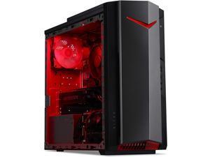 Acer Gaming Nitro 50 - N50-610-EB12, Intel Core I5-10400F Hexa Core 2.90GHz, 12GB RAM, 512GB SSD, Nvidia Geforce GTX 1650 4GB, Display Port, HDMI, DVI, W10 Home, 1 Year Manufacturer Warranty
