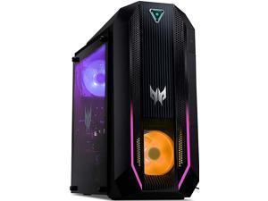 Acer Predator Orion 3000 - PO3-630 gaming desktop, Nvidia RTX 3060Ti 8GB GDDR6, Intel Core I7-11700F 8Cores 2.50GHz, 16GB RAM, 1TB SSD, VR Ready, Dual Frost Blade, Display Port, HDMI, 1 Year warranty