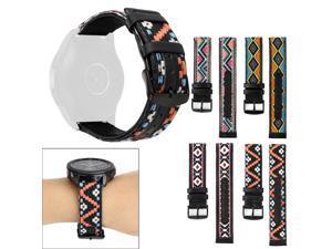 for samsung galaxy watch Slim Premium Leather Band Replacement Strap For Samsung Galaxy Watch Active for amazfit bip strap