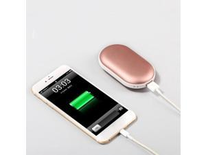 Electric Reusable Hand Warmer Heater USB Wired Rechargeable Winter Warm Pink