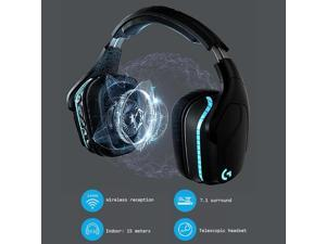 Logitech(G) G933S Professional Gaming Headset 3.5mm Wired 2.4GHz Wireless Multifunction Headphone 7.1 Surround Sound 3D Headset