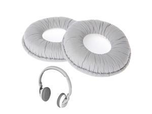 OOTDTY Replacement Ear Pad Cushions For Sennheiser PX100 PX200 PX80 Headphones Gray Headset Earphone Accessory