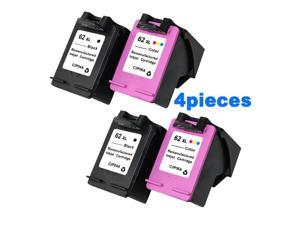 XiongCai Compatible Ink Cartridges For HP 62 For HP Envy 5640 5660 7640 5540 5545 Officejet 5740 5743 5744 5745 printers