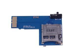 2 In 1 Dual System Tf Micro- Sd Card Adapter Memory Board For Raspberry Pi Zero W