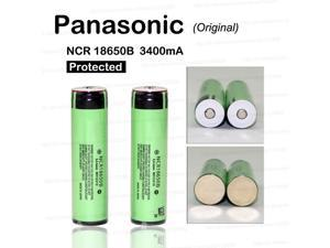 New Protected Original Panasonic 18650 NCR18650B 3.7V 3400mAh Rechargeable Li-ion Battery Batteries with PCB