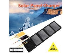 16W 5V Solar Charger Panel Waterproof Foldable Solar Power Bank for Car Battery Mobile Phone