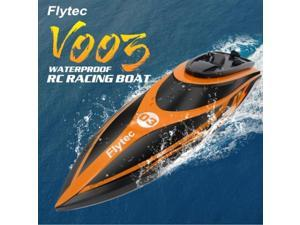 Flytec  Boat  V0032.4GHz 2CH 30KM/h High Speed Water Cooling System Remote Control Racing Boat Speedboat