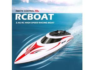H830  Boat 2.4GHz Speedboat With 25KM/h High Speed Self-righting Water Cooling System Remote Control Racing Boat