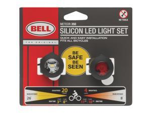 Diamondback Urban Combo 3 Led Bicycle Light Set ultra Luminance Silver//Red