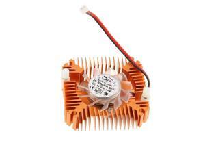 2-Pin 55mm PC GPU VGA Graphics Video Card Heatsink Replacement Cooling Fan 12V 0.10A