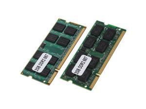 2x 2GB DDR2 PC2-5300 SODIMM RAM Memory 667MHz 200-pin Notebook Laptop