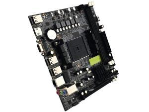 DDR3 FM2//FM2 ASHATA Computer Motherboard CPU Interface Desktop Computer Motherboard for AMD A88 for A10//A8//A6//A4//Athlon Graphics Chip with Battery