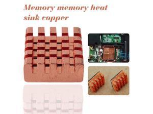 Copper Cooler Heat Sink 8 Pcs Back Memory RAM Sink Cooling For MOS DDR VGA GPU IC Chip Heatsink