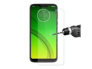 ENKAY 2.5D 0.26mm 9H Tempered Glass Protective Film Arc Edge Dirtproof for Motorola Moto G7 Power