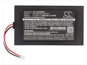 1300mAh battery for LOGITECH 915-000257 915-000260 Elite Harmony 950 533-000128 623158 Remote Control Battery