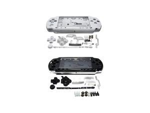 Full Housing Shell Faceplate Case Parts Replacement for PSP 2000 Console