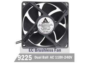 SXDOOL FD129225MB 9CM 9225 dual ball bearing 2-wire power supply axial cooling fan