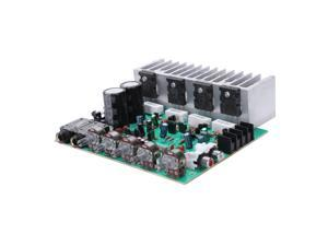Audio Amplifier Board Hifi Digital Reverb Power Amplifier 250W X 2 2.0 Audio Preamp Rear Amplification With Tone Control E3-00