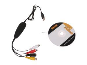 EZCAP172 USB Video Capture Audio Grabber VHS TV Game Player To PC DVD Maker For Win10