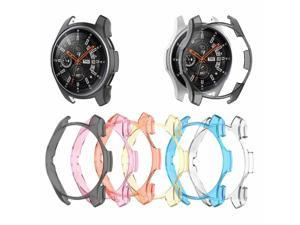 Transparent Protector Shell Protective Case Frame Cover For Samsung Galaxy Watch 46mm Gear S3 Frontier Smartwatch