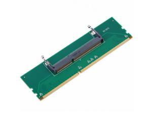 High Quality DDR3 Laptop SO-DIMM to Desktop DIMM Memory RAM Connector Adapter DDR3  ping