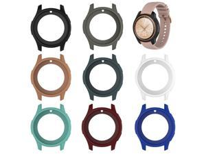 Silicone Soft Shell Protective Frame Case Cover Skin For Samsung Galaxy Watch 42mm