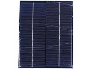 3.5W 5V Solar Panel With DC35MM Base For 18650 Battery Solar Cell For 18650 Rechargeable Battery Charging Directly